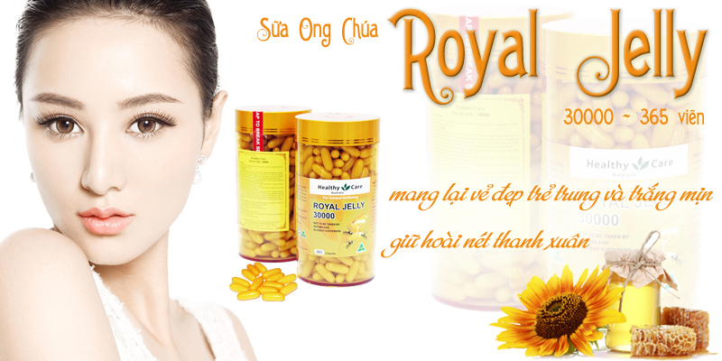 Sữa ong chúa Royal Jelly 30000mg